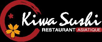 KIWA SUSHI-restaurant asiatique logo
